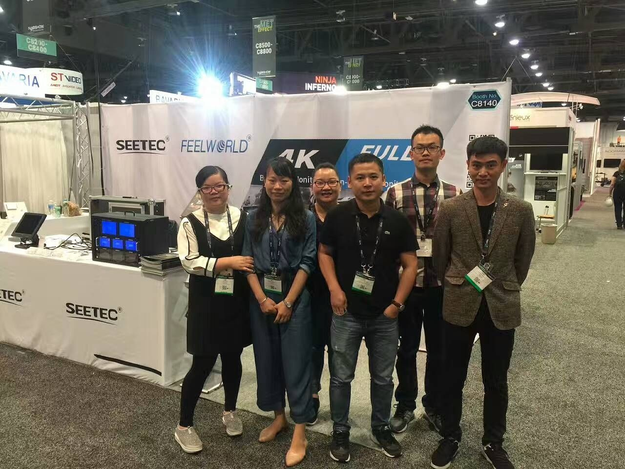 Pin by feelworld on FEELWORLD at 2017 NAB Show Video