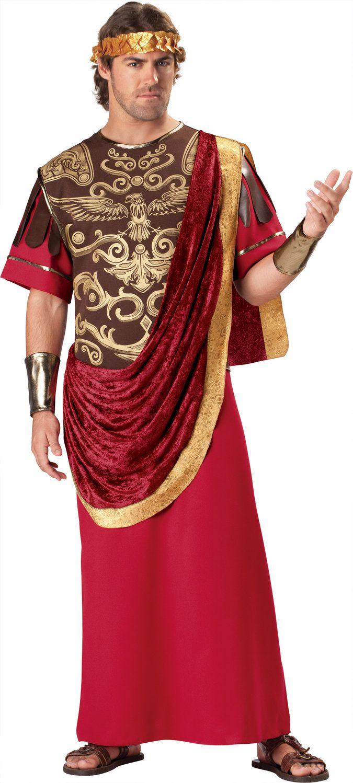 Mens Julius Caesar Roman Costume Julius Caesar Costume