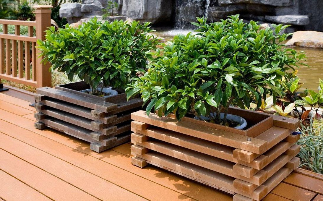 Best Wood For Planter Boxes How To Make Wooden Planter Boxes Waterproof Cool Home Designs Garden Planter Boxes Wooden Garden Planters Wooden Crates Garden