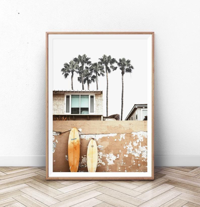Aloha palms poster home decor nature print contemporary poster high quality photograph original photo art print gallery wall