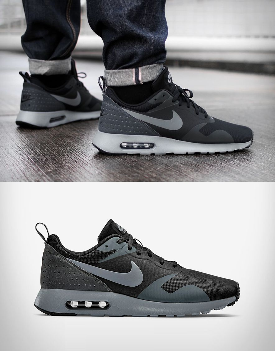 nike air max tavas black large | New nike shoes, Nike air