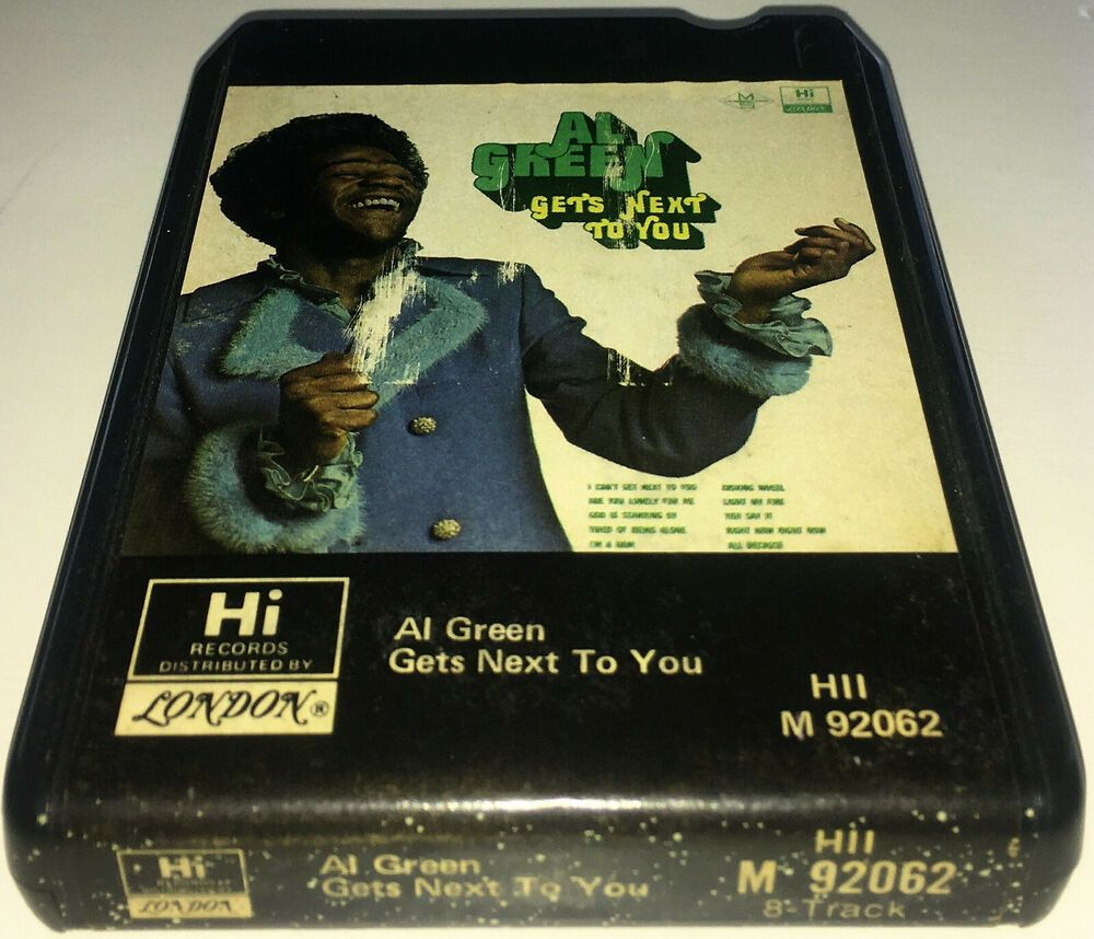 Details About Al Green Get S Next To You 1971 Soul R B 8 Track