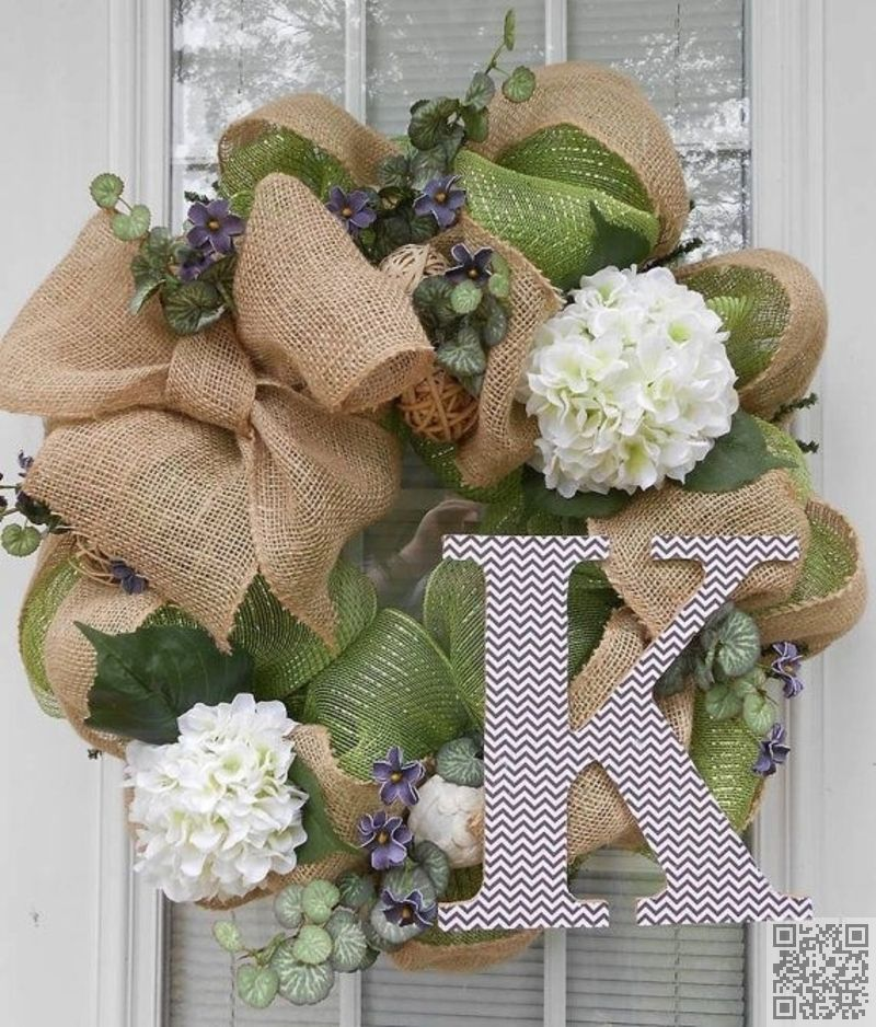 55 #Awesome Wreaths To #Adorn Your Front Door ...
