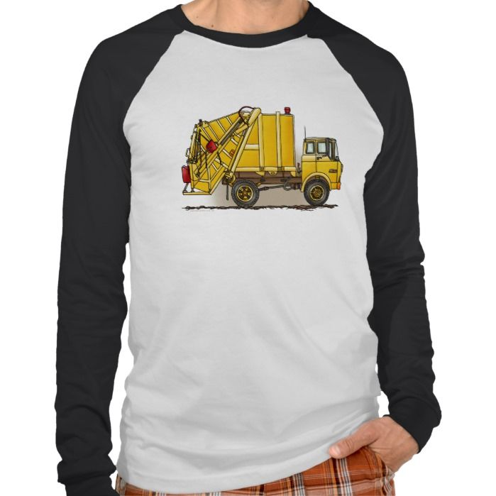 Garbage Truck 2 Construction Adult T Shirt, Hoodie Sweatshirt