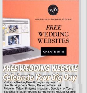 Attention All Engaged Couples Celebrate Your Big Day With A FREE Wedding Website From Paper