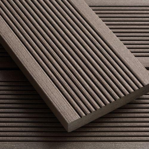 Deck Ecologico Cor Imbuia Frisado Deck De Madeira Deque Deck
