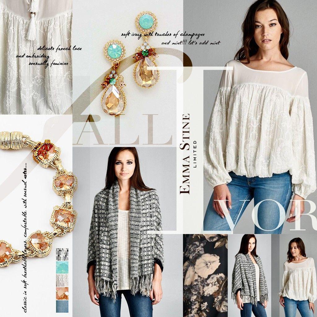 Getting ready for the Fall fashion season with Emma Stine Limited :)