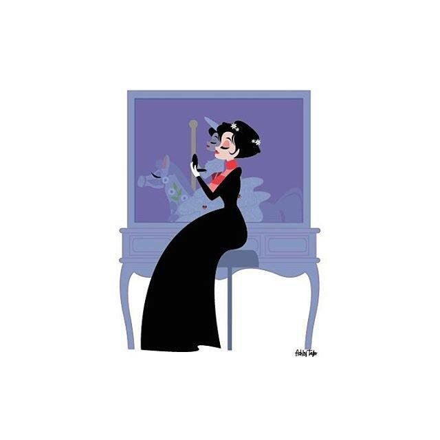 Disney Vanity Series by Ashley Taylor Mary Poppins