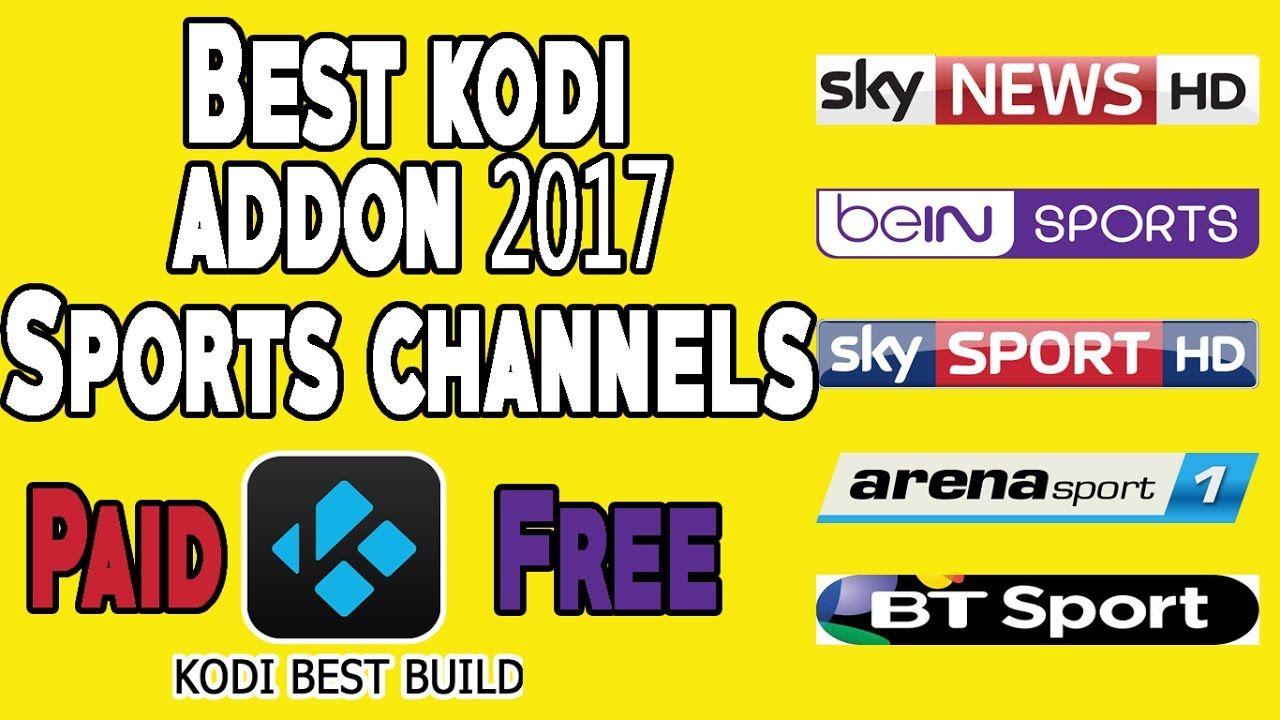 The best kodi addon 2017, for live sport on kodi all