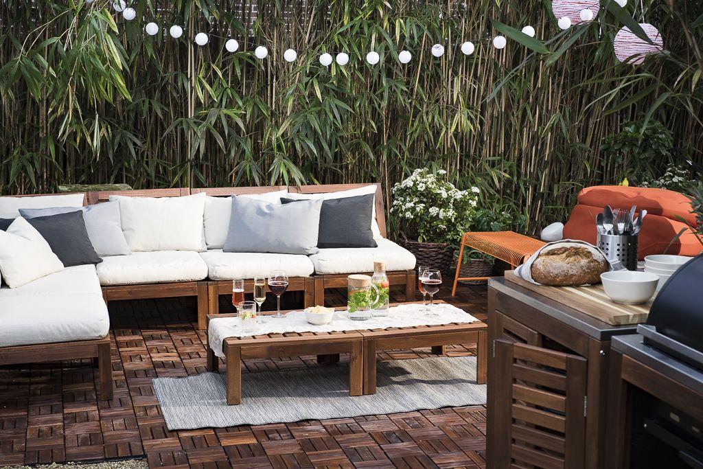 ikea garden furniture IKEA: ÄPPLARÖ tuinmeubelen. potential patio furniture