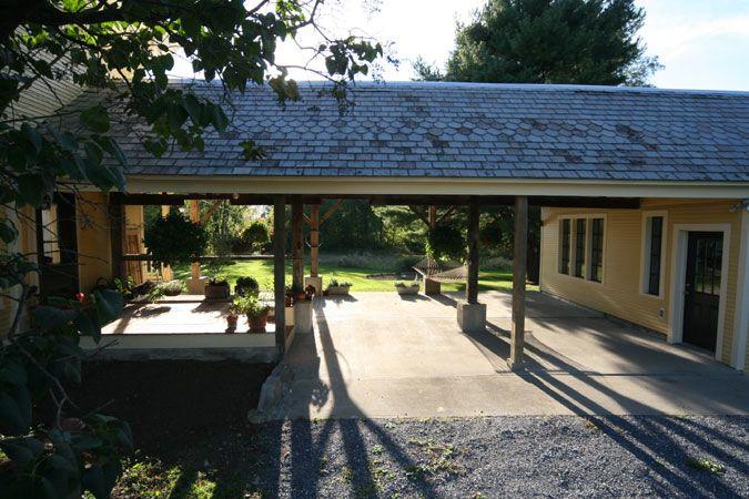 Carport Breezeway And Detached Garage Breezeway Unique House Plans House Exterior