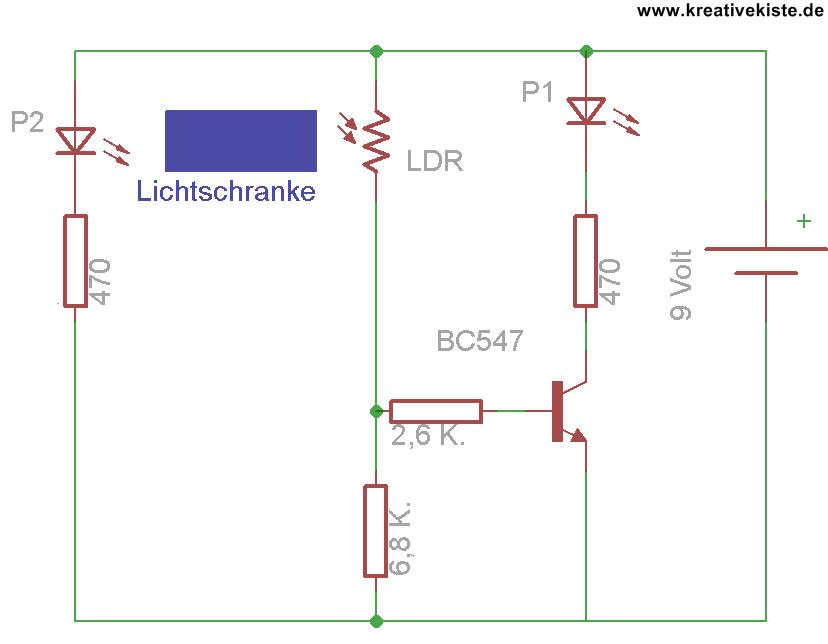 21 Transistor Grundschaltungen Lichtschranke Elektroniken Elektroinstallation Und Elektrotechnik