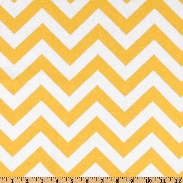 Premier Prints ZigZag Slub Yellow/White - think I\'m going to make ...