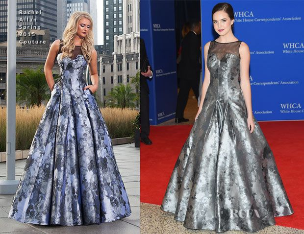 Bailee Madison In Rachel Allan Couture – 2015 White House Correspondents' Association Dinner