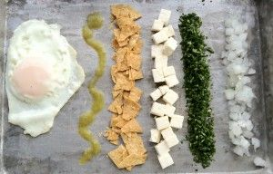 Chilaquile Ingredients