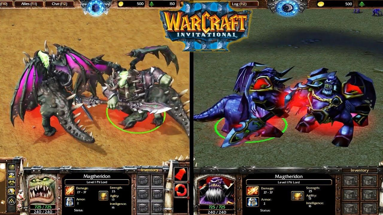 Warcraft 3 Reforged Beta Leak Demon Models Side By Side With Old