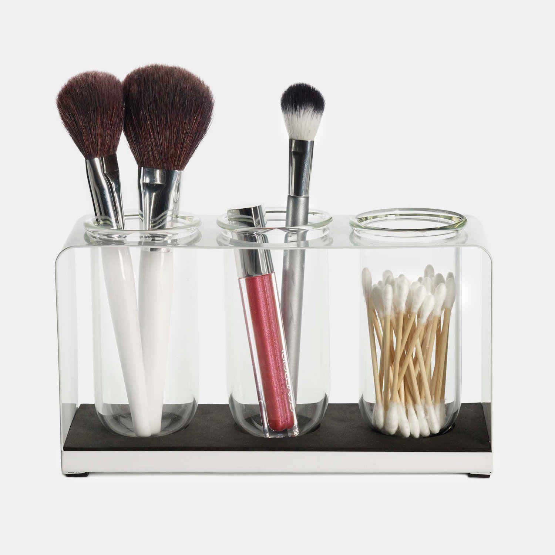 Wall Accents Dormify Makeup brush organization, Makeup