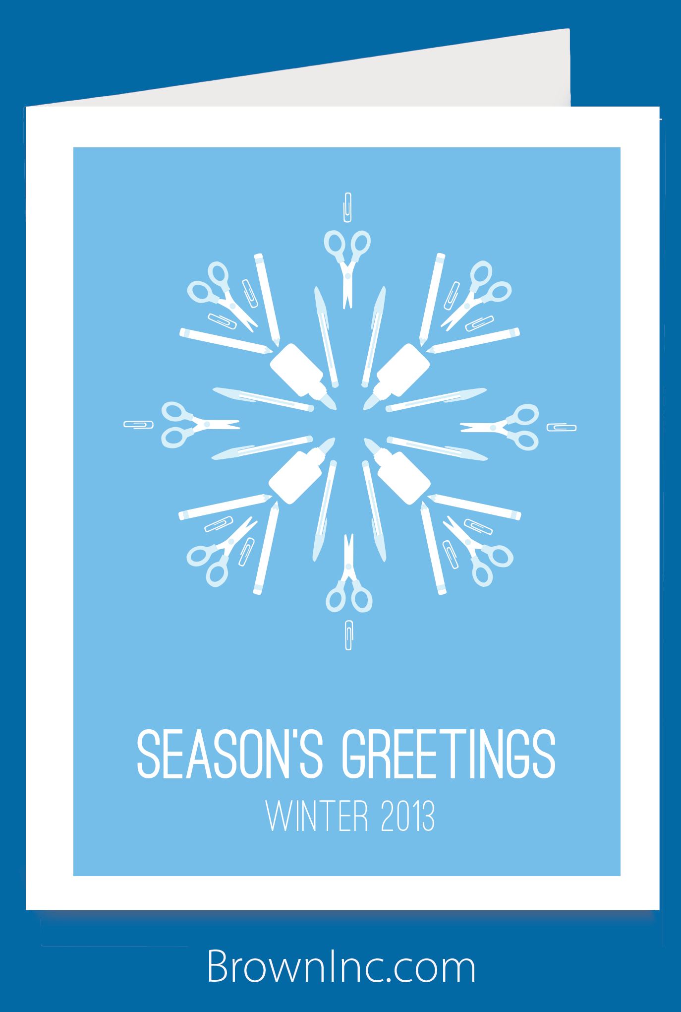 The Perfect Holiday Card For Schools Give This Greeting Card To