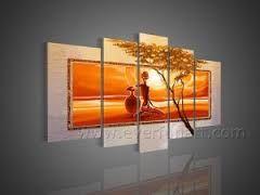 Resultado de imagem para pintura africana abstrata                                                                                                                                                      Mais