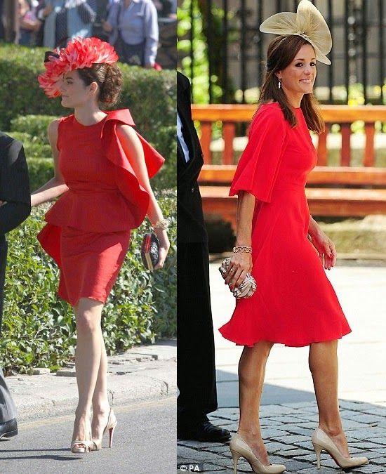 f1fdc7c1e783c Cómo Combinar un Vestido Rojo. Vestidos Para Boda Invitada