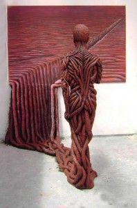 Esculturas intrigantes de Michal Trpák