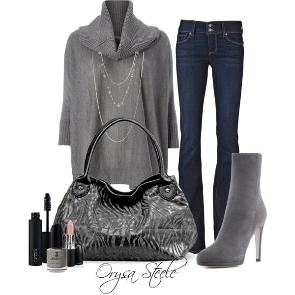 Soft as Suede by orysa on Polyvore featuring Marella, Paige Denim, Sergio Rossi, Jules Smith, MAC Cosmetics, Jessica and mac cosmetics