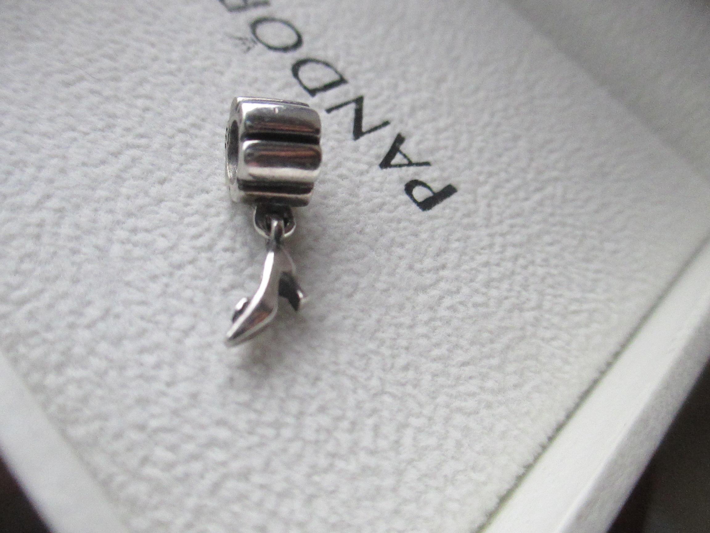 871f7b5b9 PANDORA Sterling Silver Dangle High Heel Shoe 790420 925 Ale Charm ...