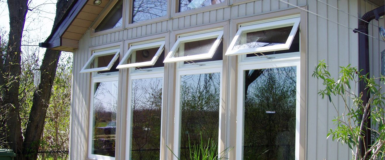 Awning Windows Open To Allow In Light And Fresh Air Description From Awning Windows Windows Window Replacement