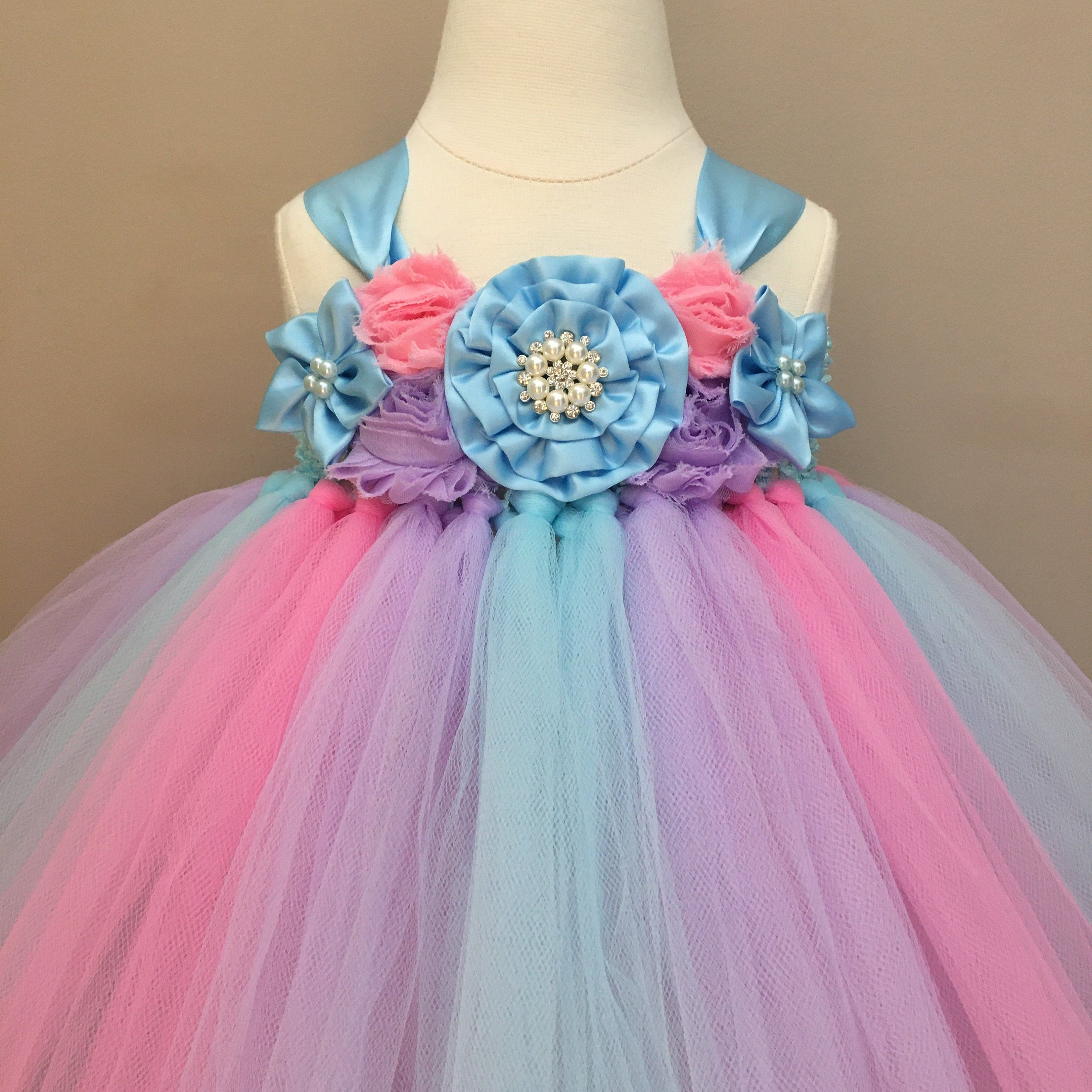 Unicorn Party Dress Unicorn Birthday Outfit First Birthday Dress 1 Year Old Mermaid Gi Toddler Flower Girl Dresses Birthday Outfit Flower Girl Dresses Tulle