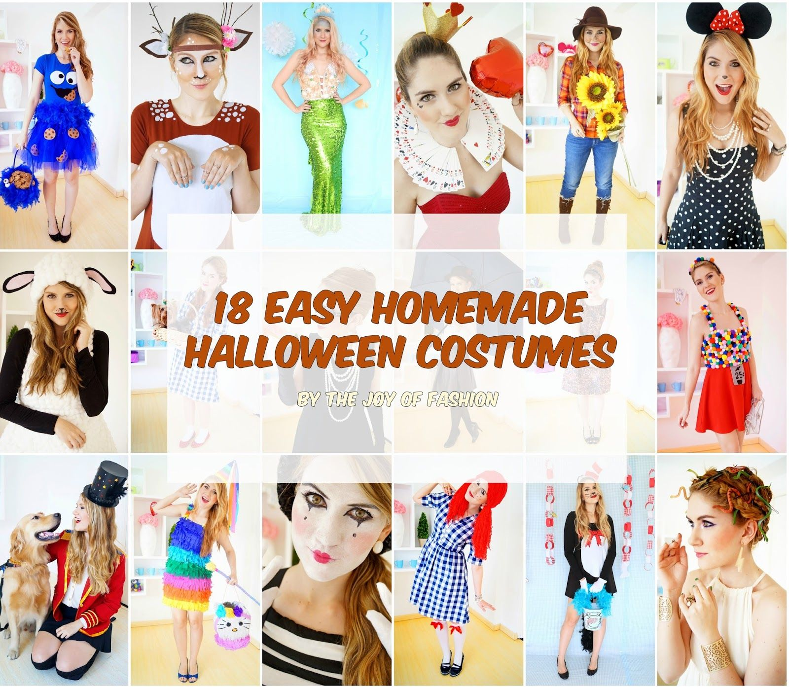 Easy Homemade Halloween Costume Ideas | Get Crafty | Pinterest ...