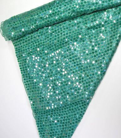 Katherine's Collection Sirens Of The Sea 36 x 3 yds Sirens Sequin Display Swag Free Ship