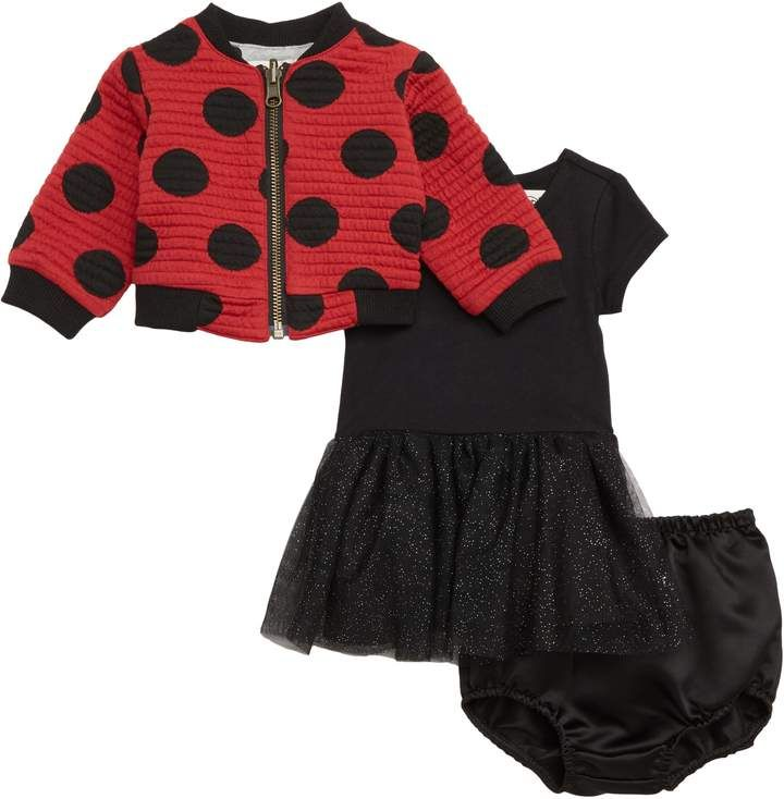 4253ffa68 Pippa & Julie x Disney Minnie Mouse Tutu Dress & Reversible Bomber Jacket  Set