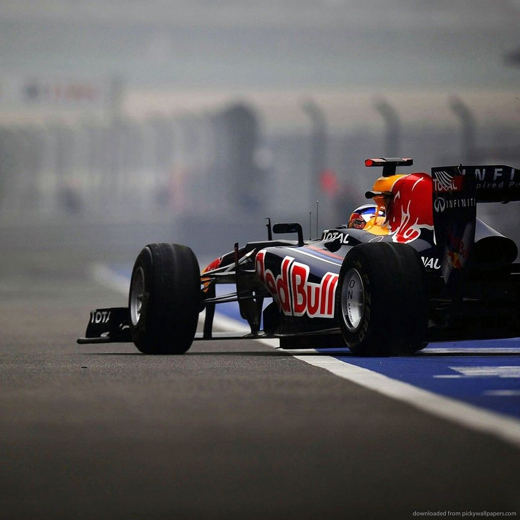 Awesome Download F1 Red Bull Team Car Wallpaper For IPad