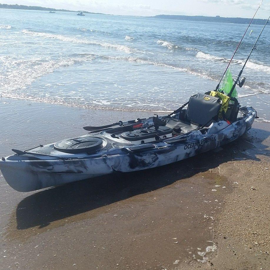 My Ocean Kayak Big Game 2 Best Fishing Kayak Ocean Kayak Kayaking