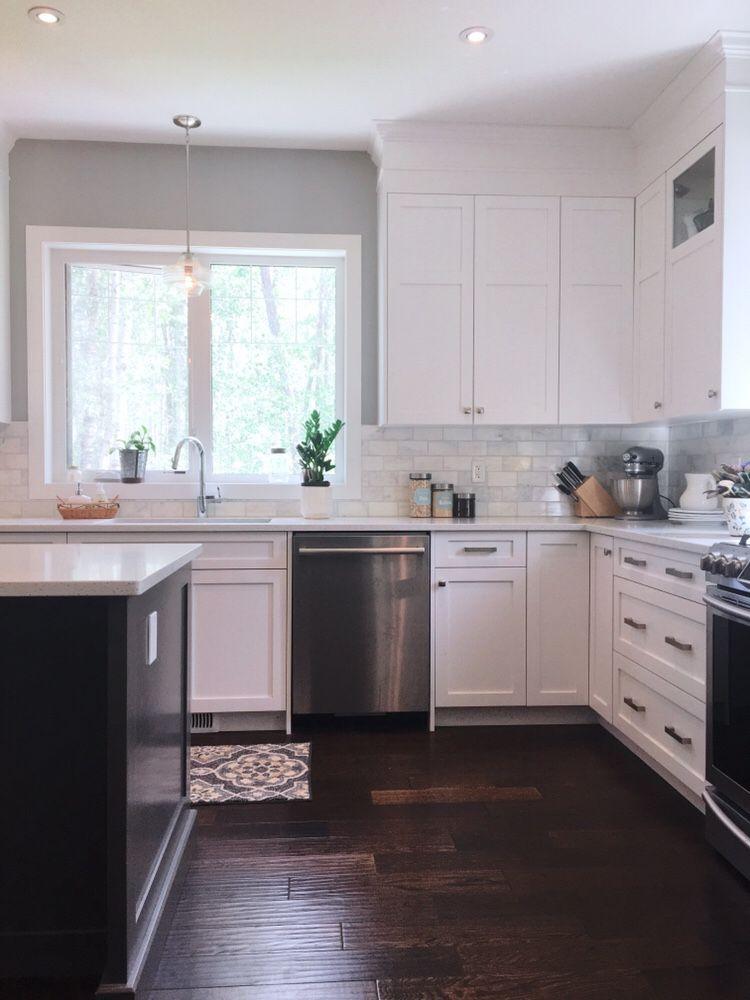 things i wish i knew when choosing white shaker kitchen cabinets farmhouse style w white on farmhouse kitchen hutch id=38635