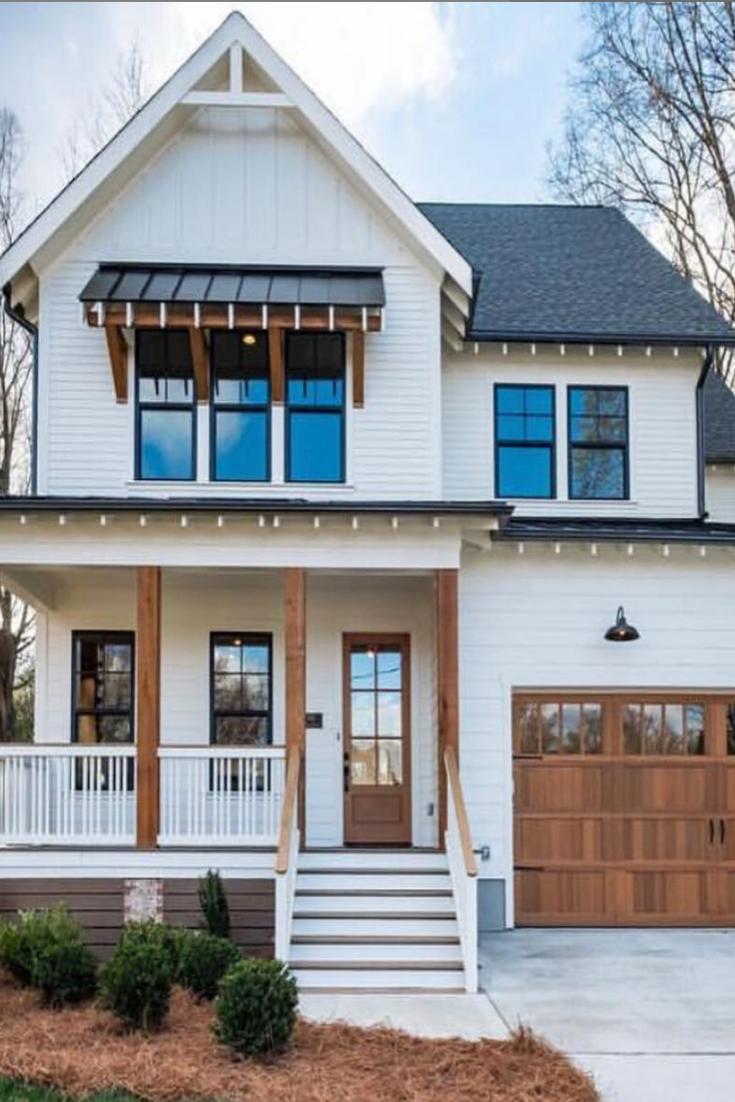 40+ Bilder, die beweisen, dass weiße Bauernhäuser die schönsten sind   – Farmhouse Design