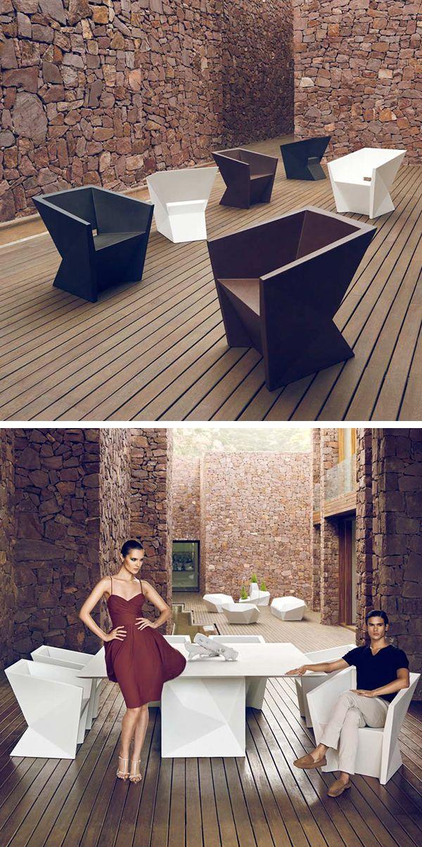 une salle manger ultra design pour votre ext rieur terrasse parc beachclub etc la. Black Bedroom Furniture Sets. Home Design Ideas