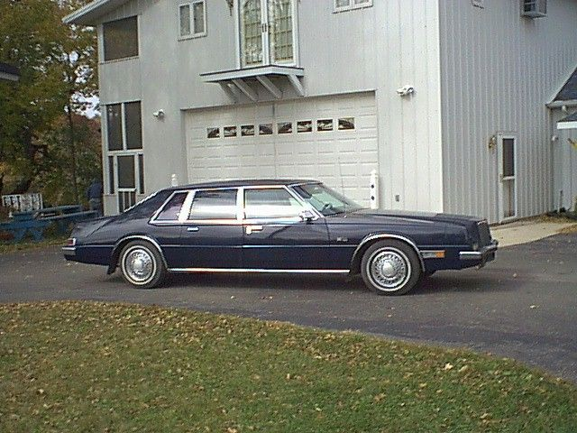 1981 1982 And 1983 Chrysler Imperial Limousine Discussion