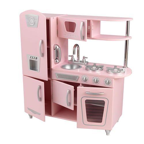 KidKraft Vintage Kitchen Set - Pink - KidKraft - Toys \