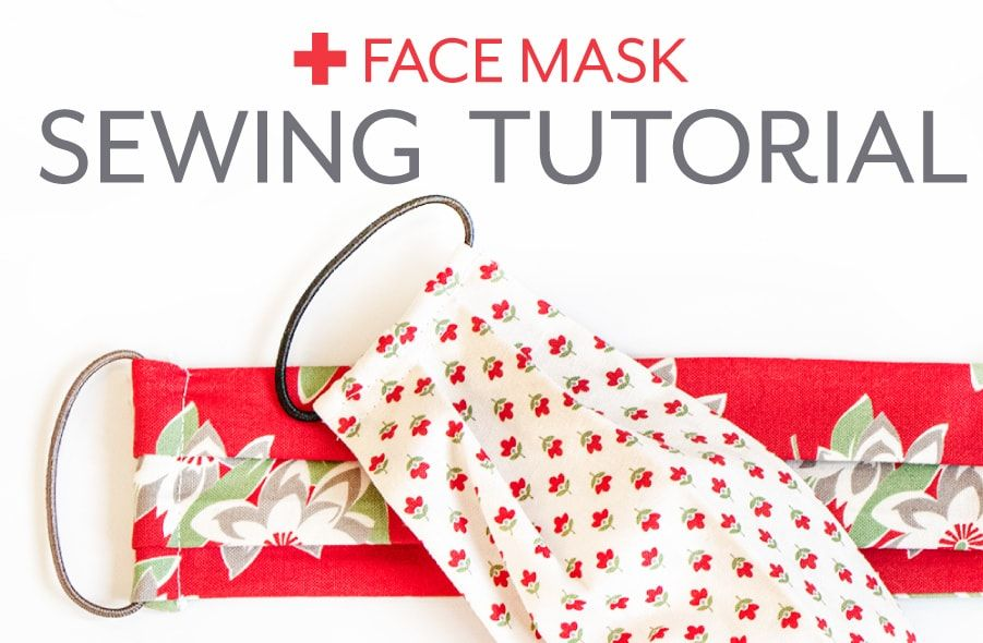 Photo of FREE Face Mask Sewing Tutorial with Hair Ties & Size Options – The Jolly Jabber Quilting Blog