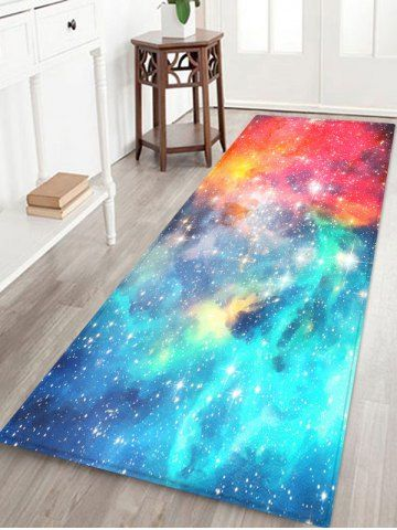 Galaxy Pattern Water Absorption Area Rug