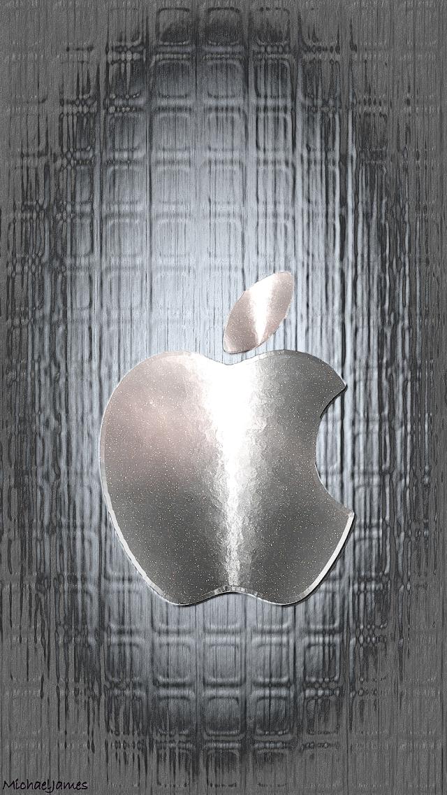 Download Metal Warp Apple 640 X 1136 Wallpapers 4624582 Metal Warp Aluminum Mobile9 Apple Logo Wallpaper Iphone Apple Logo Wallpaper Apple Wallpaper