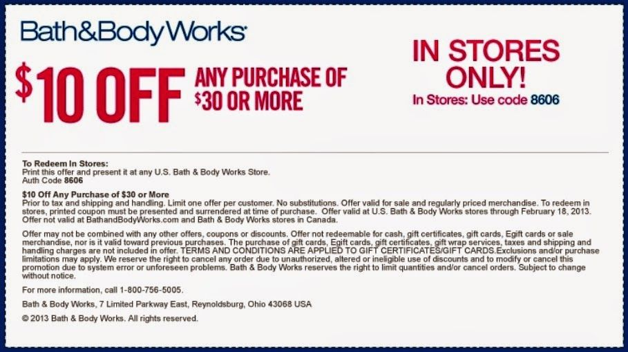 bath and body works free shipping code 2019
