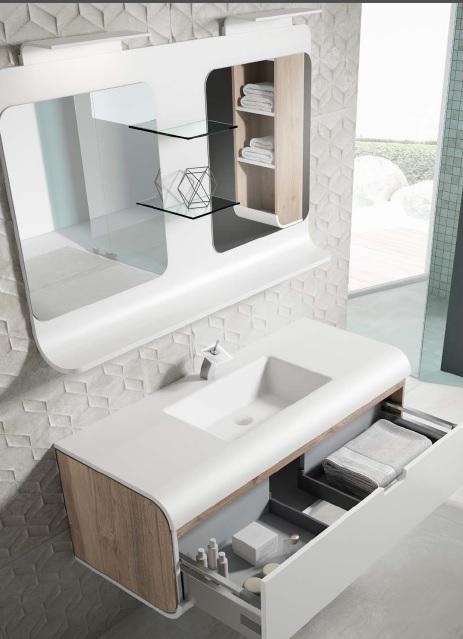 MUEBLE DE BAÑO SUNNE 2C de VISOBATH | Muebles de baño ...