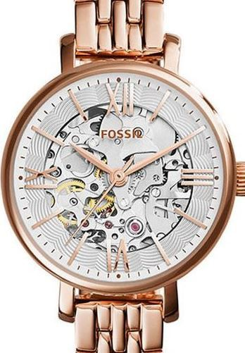 a5ccd0fff8d Buy Authentic FOSSIL Jacqueline Rose Gold Skeleton Automatic Ladies Watch  for R501.00