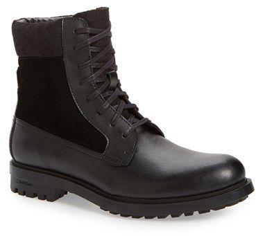 189efe5b96c Men s Calvin Klein  Gable  Plain-Toe Combat Boot  menshoes  wintershoes   menshoesandcars