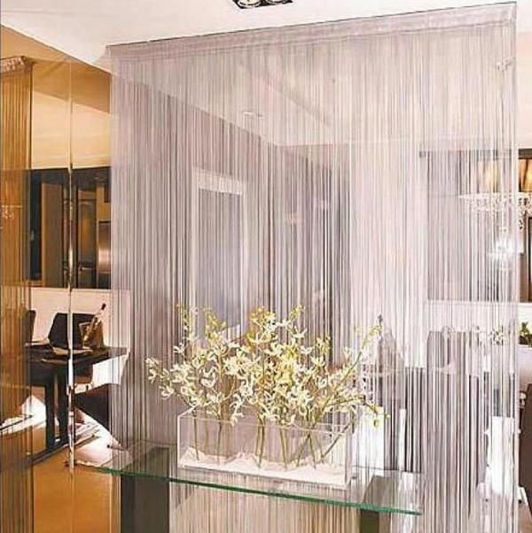 Rain Curtain, Home Decor Accents To Romanticise Modern Interior Design