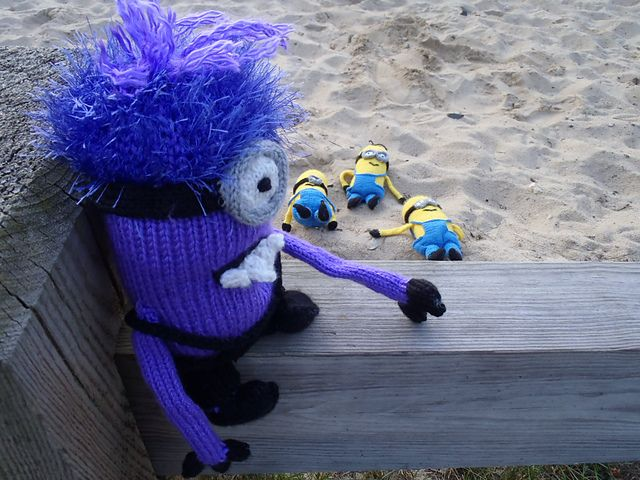 Knit Minion Evil Version Free Download Pattern Sign In Or Create