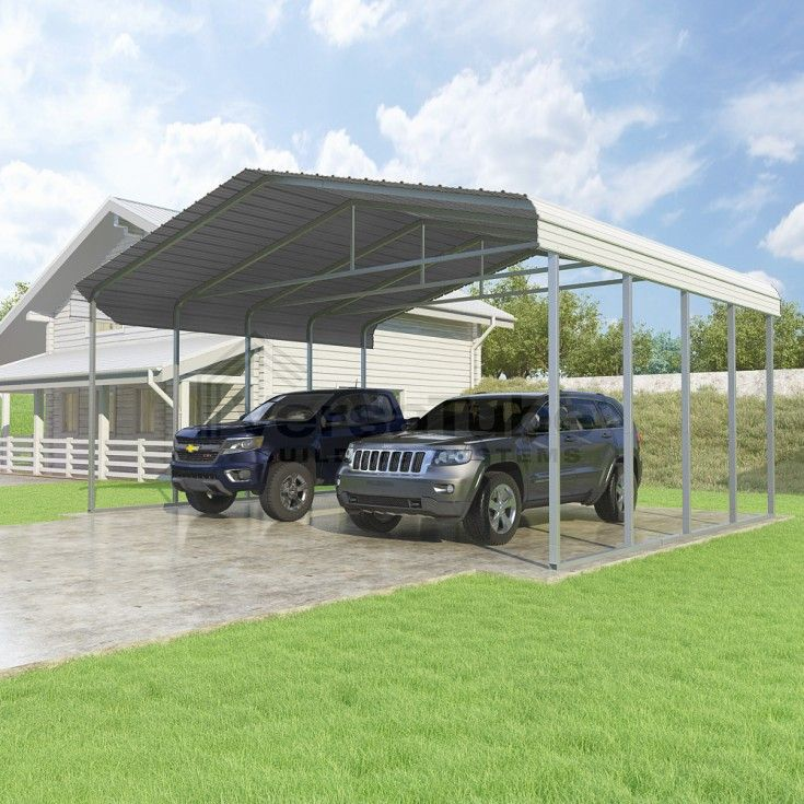 Classic Carport Roof Only 24 x 20 x 10 Building