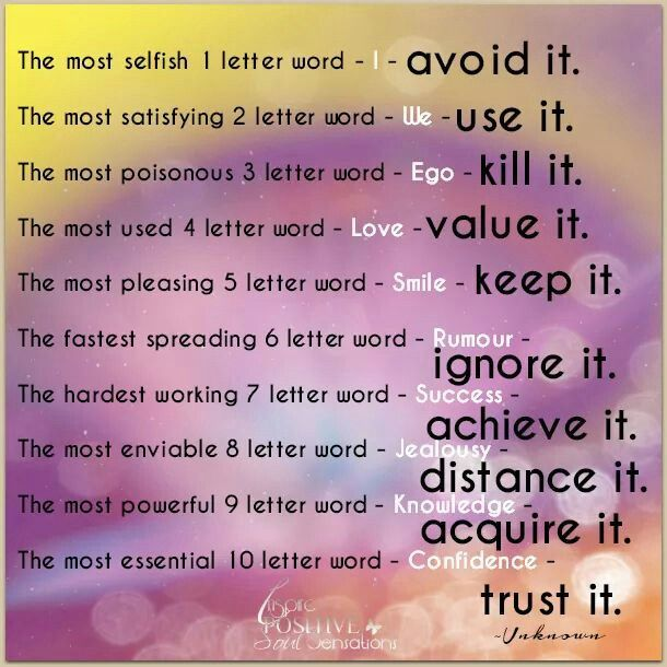 Luv this | Smile word, 2 letter words, 6 letter words